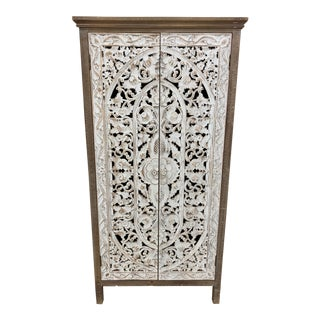 Shabby Chic Style Decorative Cabinet/Wardrobe For Sale