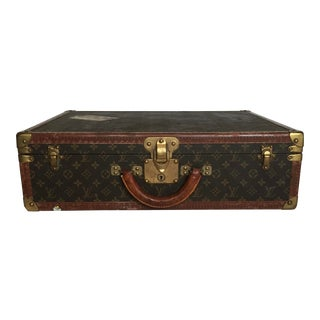 Vintage Louis Vuitton Trunk Suitcase For Sale