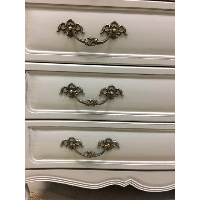 Vintage French Grey Dresser - Image 5 of 6