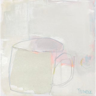 """Sarah Trundle """"Tea for Tuesday"""" Contemporary Abstract Painting For Sale"""