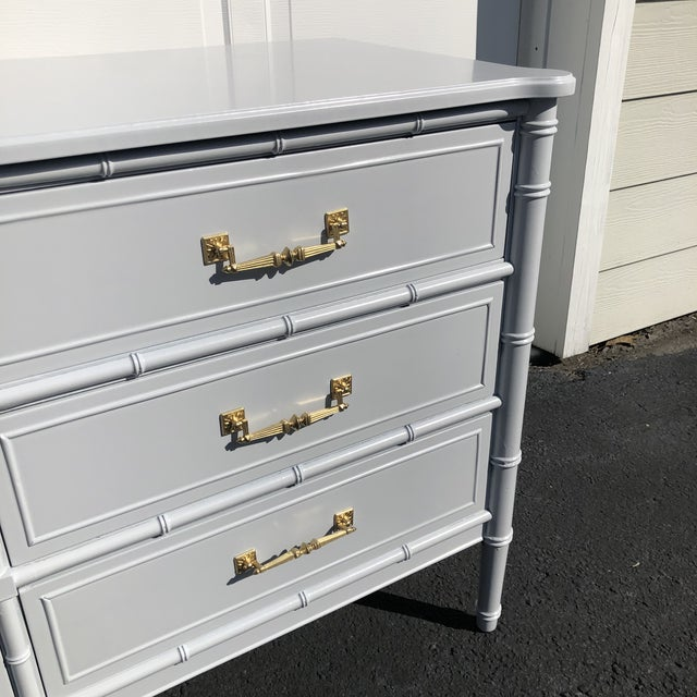 1970s Lacquered Henry Link Dresser For Sale In Charleston - Image 6 of 12