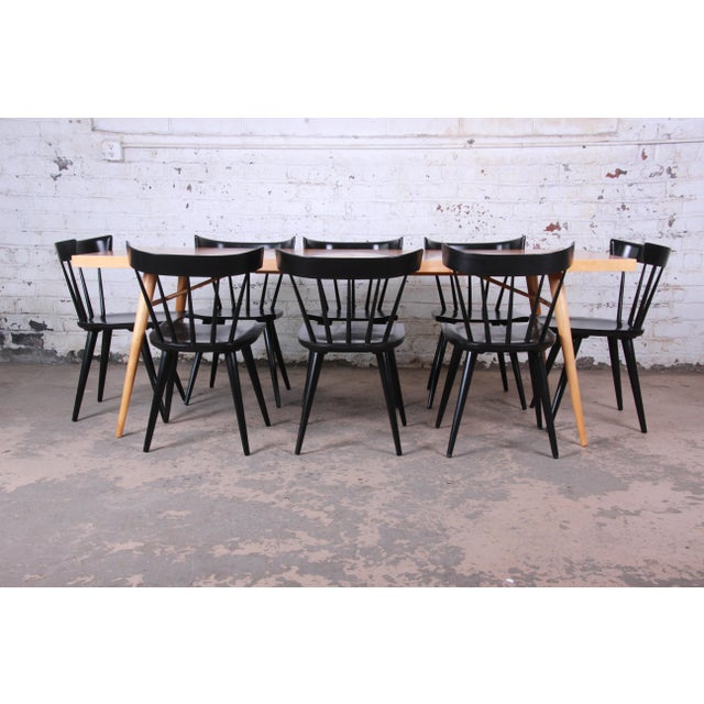 Planner Group 1950s Paul McCobb Planner Group Mid-Century Modern Dining Set For Sale - Image 4 of 13