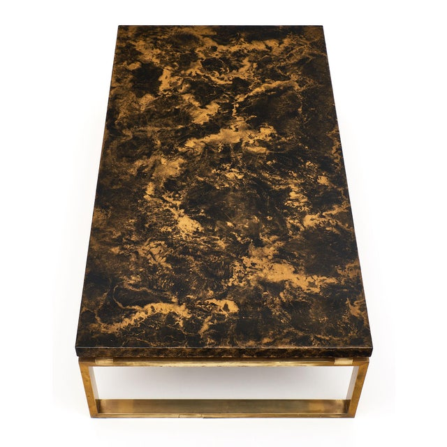 Mid-Century French Altuglass Coffee Table For Sale In Austin - Image 6 of 10