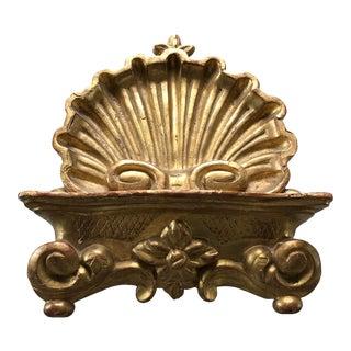 19th Century Italian Gilt Wood Book Rest For Sale
