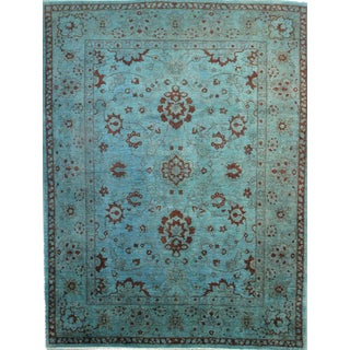 """Pasargad NY Pishavar Over Dyed Sultanabad Wool Rug - 8'8"""" X 11'4"""""""