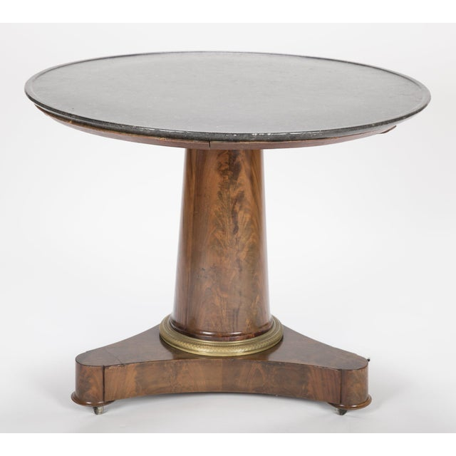 19th Century English Marble Top Center Table For Sale In New York - Image 6 of 13
