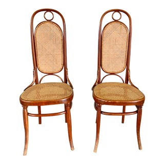 Original Pair No 17 Bentwood Chairs by Michael Thonet