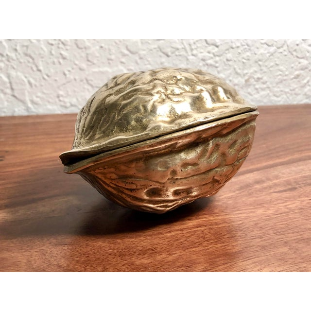 Mid 20th Century Solid Brass Walnut Cracker For Sale In West Palm - Image 6 of 13