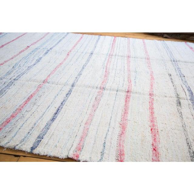 "Vintage Handwoven Rag Rug - 6'7"" x 10'10"" - Image 2 of 8"