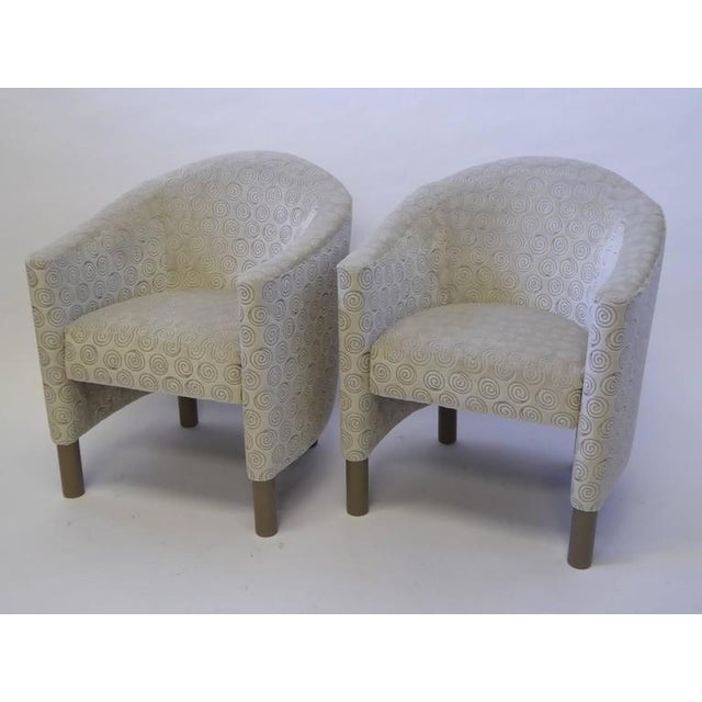 Pair of Club Chairs by Brayton International Collection - Image 2 of 5