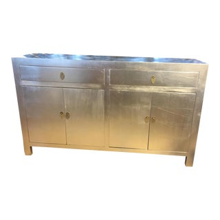 Chinese Modern Silver Dresser