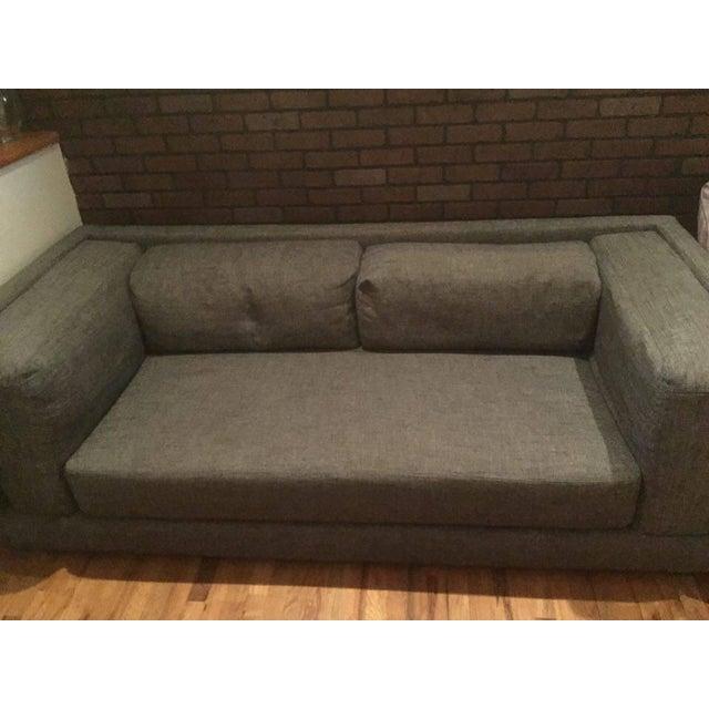 Italian CB2 Bolla Sofa, Carbon For Sale - Image 3 of 3