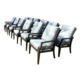 Woodard Andover Dining Chairs - Set of 12