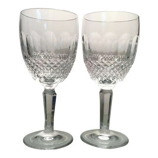 Waterford Crystal Colleen Essence Wine Goblets For Sale