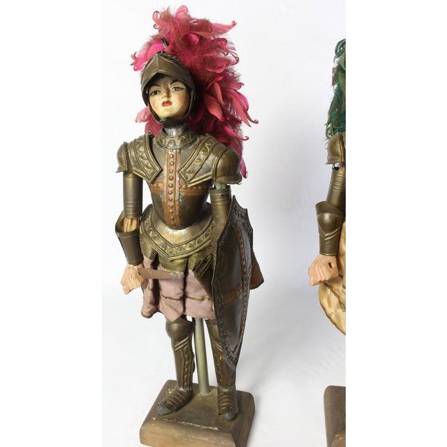 Pair of Mid-19th Century Sicilian Marionettes For Sale - Image 10 of 11