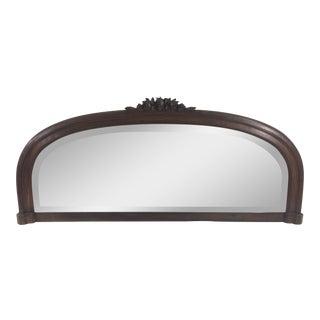 Art Deco Walnut Mirror For Sale