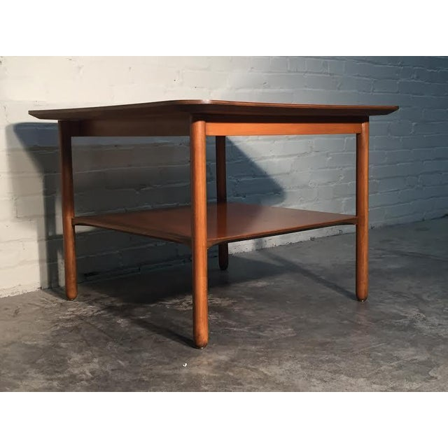 Mid-Century Modern Corner End Table - Image 9 of 10