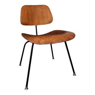 "1950s Mid-Century Wooden Eames ""DMC"" Chair"