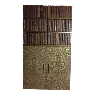 Late 19th Century Panels of 18th Century French Bookbinds