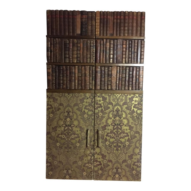 Late 19th Century Panels of 18th Century French Bookbinds For Sale