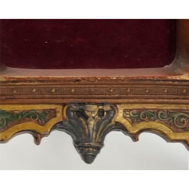 Antique Cast Iron Photo Frame - Italianate Renaissance/Victorian/Style For Sale - Image 9 of 10
