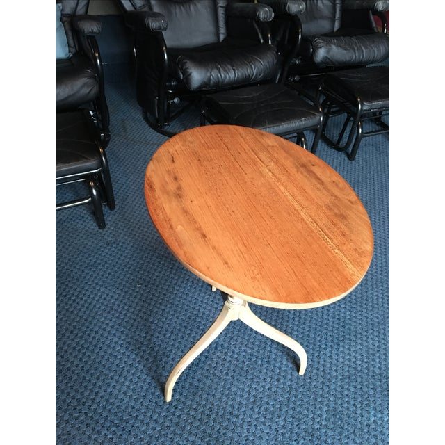 Vintage Mahogany Flip Top Table - Image 3 of 8