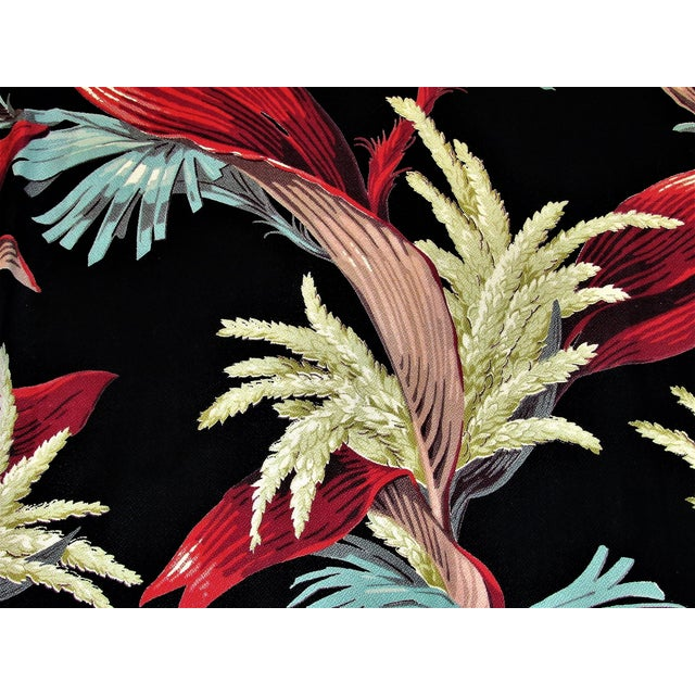Miami Beach and its relationship with barkcloth spans almost a century...it's as if those bold tropical designs were made...