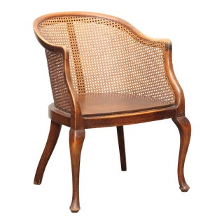 Late 18th Century Dutch Colonial Style in Teak Round Back Chair For Sale