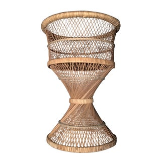Rattan Wicker Plant Stand