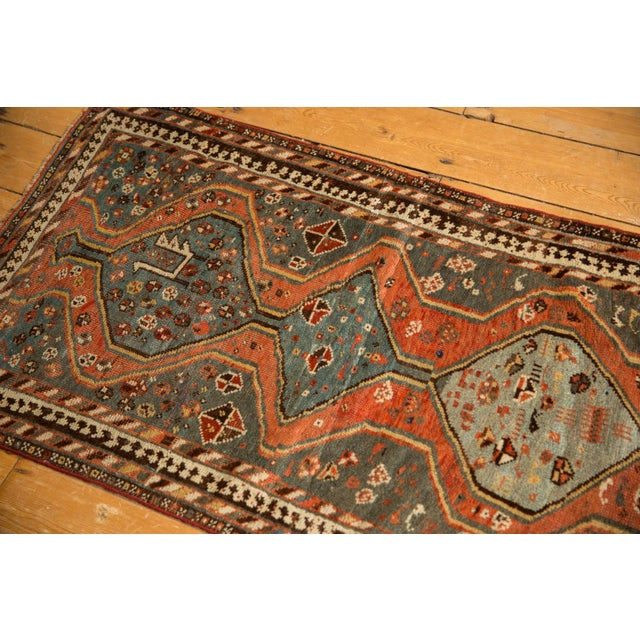 "Textile Vintage Kamseh Rug - 2'5"" X 4'3"" For Sale - Image 7 of 9"