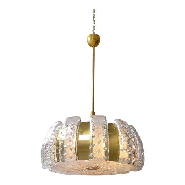 Mid-Century Ceiling Pendant by Doria For Sale