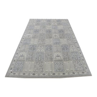 Modern Loom Engineered Gray Blue Rug - 7'6''x 10'6'' For Sale