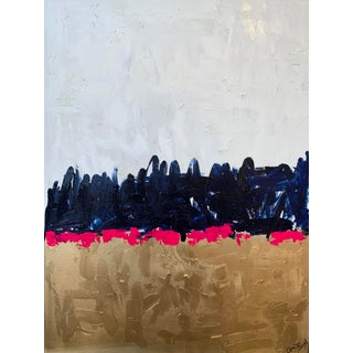 """""""Take Me Home"""" Contemporary Abstract Mixed-Media Painting by Ebony Boyd For Sale"""