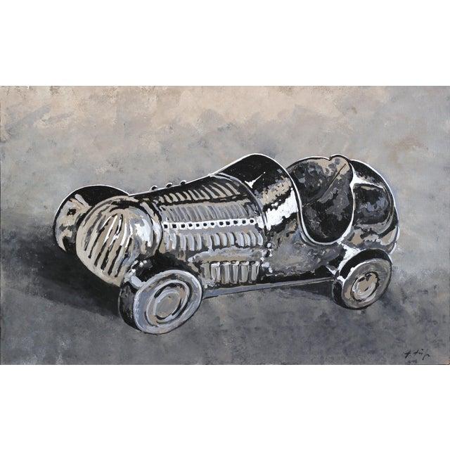 """Pop Art """"Monopoly Racecar"""" Original Artwork by Kathleen Keifer For Sale - Image 3 of 3"""