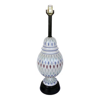 Mid-Century Modern Ceramic Table Lamp by Raymor, Italy. For Sale