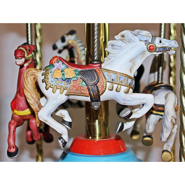 Tabletop Carousel by Fraley - Image 6 of 9