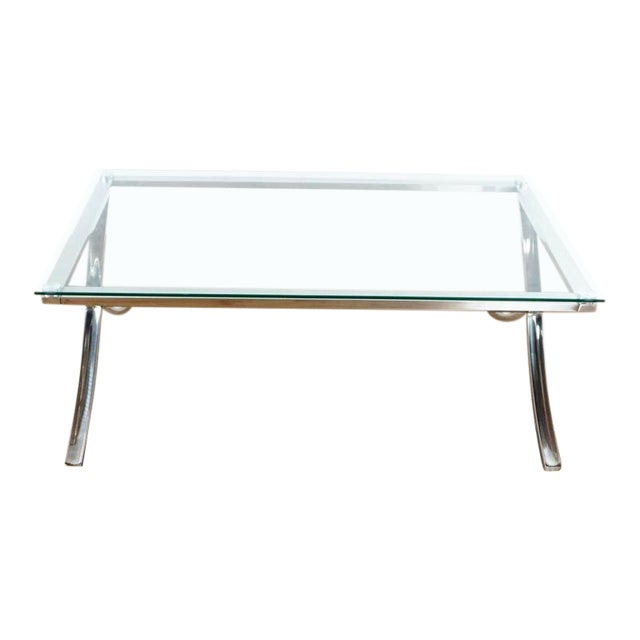 Z Gallerie Barcelona Coffee Table For Sale