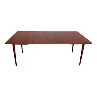 Mid-Century Modern Restored Walnut Dining Table
