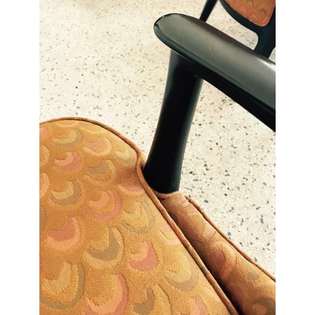 Pair of Classic Dunbar Janus Armchairs in Larsen Fabric For Sale - Image 9 of 10