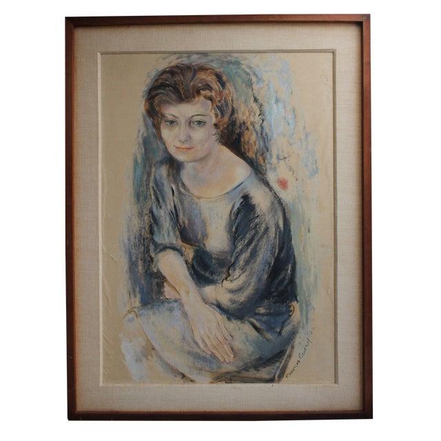 Frances Avery Self Portrait For Sale