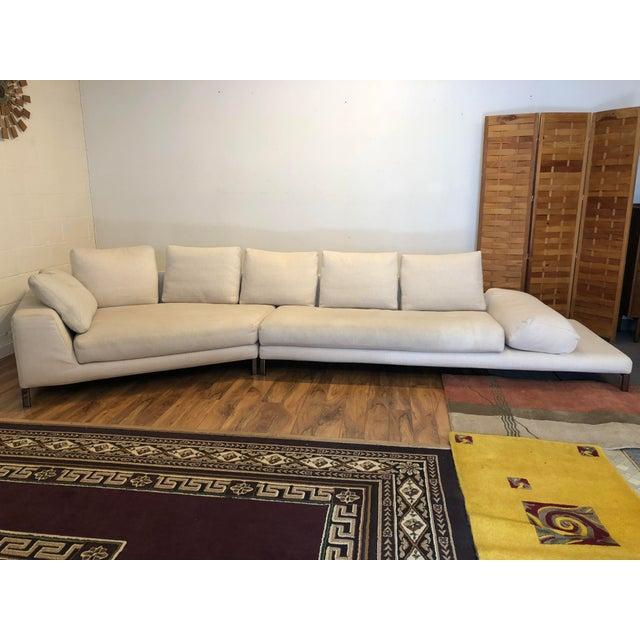 Tan Minotti Hamilton Islands Sectional Sofa For Sale - Image 8 of 13