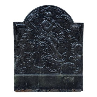19th Century Antique Fireback For Sale