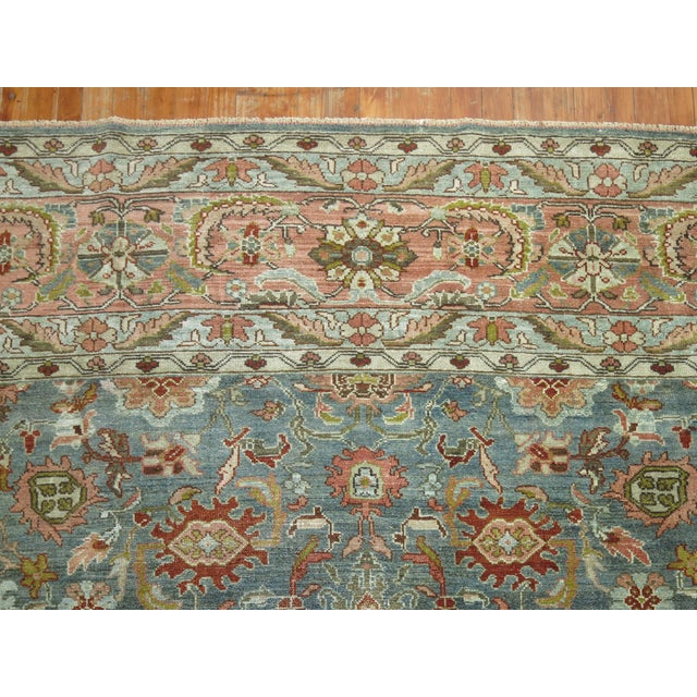 English Antique Malayer Rug, 9' X 11'8'' For Sale - Image 3 of 11