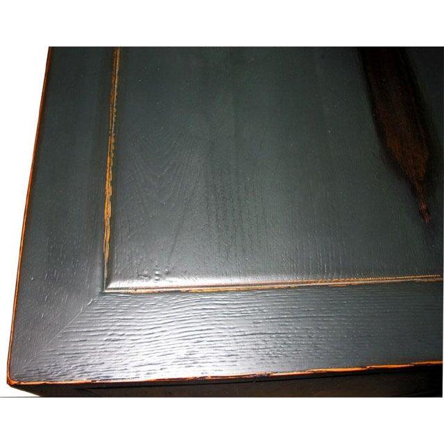 2010s Antique Black Sideboard For Sale - Image 5 of 6