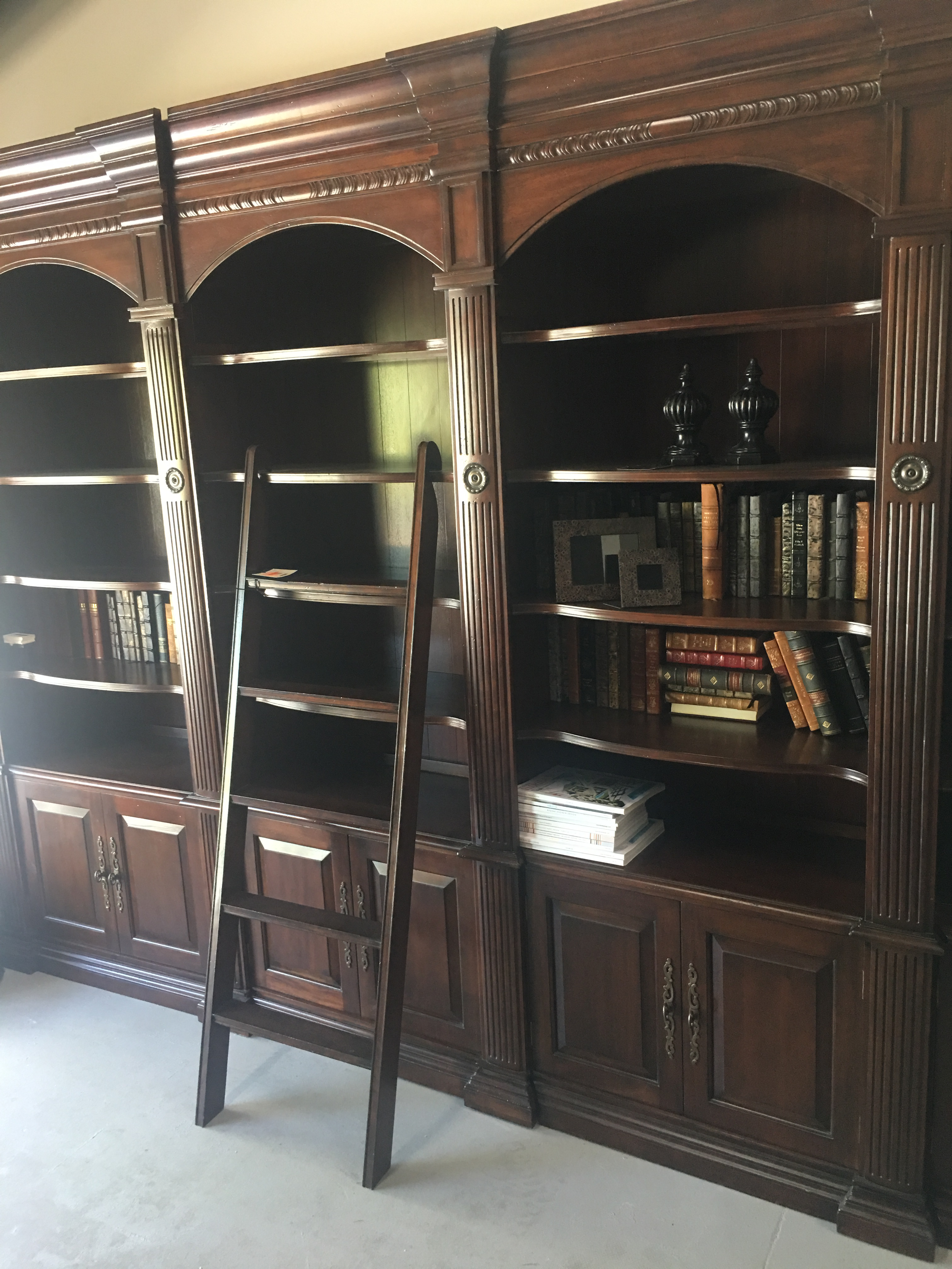 French Heritage Bordeaux Library 4 Unit System U0026 Ladder   Image 5 Of 12