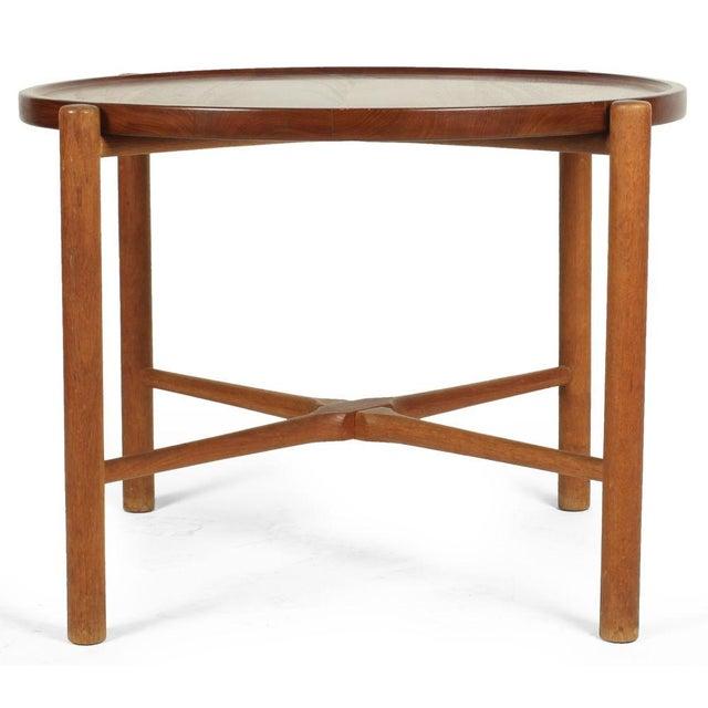 Danish Modern Hans J. Wegner Knock Down Occasional Table For Sale - Image 3 of 7