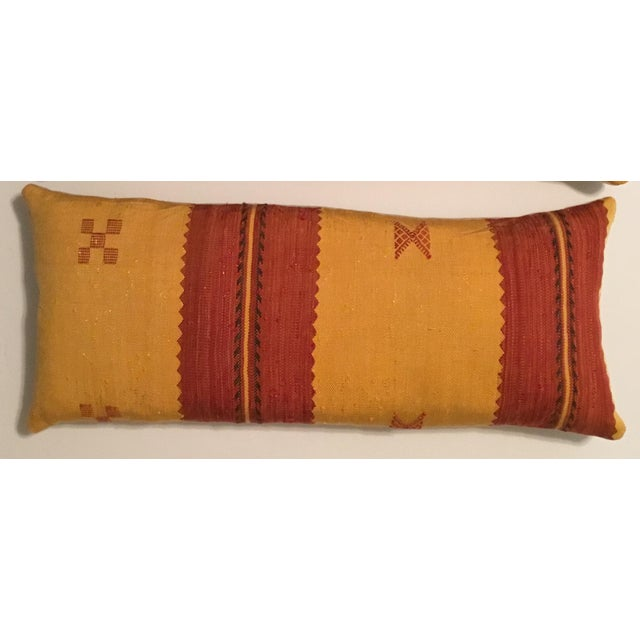 Moroccan Cactus Silk Pillow - A Pair - Image 11 of 11