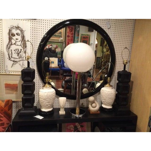 Large Robert Sonneman Style Lollipop Table Lamp For Sale - Image 9 of 12