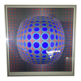 Vasserly Op Art Print For Sale