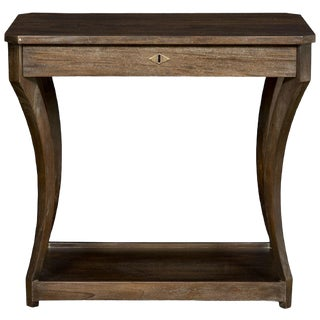 Transitional Vanguard Furniture Compendium Belen Side Table For Sale